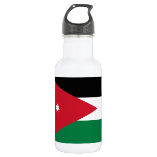 Nationale Weltflagge Jordaniens Edelstahlflasche