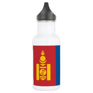 Nationale Weltflagge Mongolei Edelstahlflasche