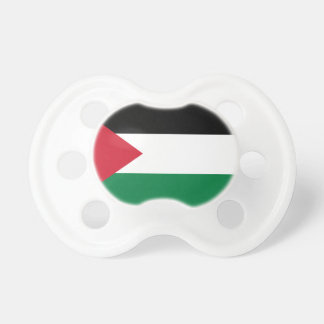 Nationale Weltflagge Palästinas Schnuller