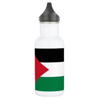 Nationale Weltflagge Palästinas Trinkflasche