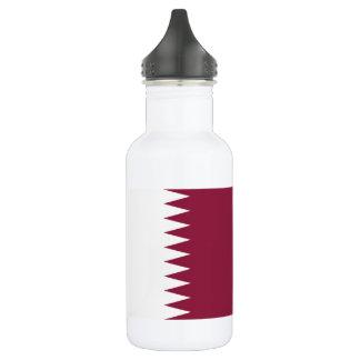 Nationale Weltflagge Qatars Trinkflasche