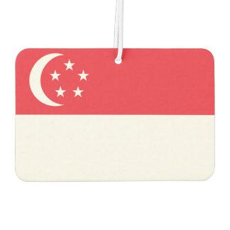 Nationale Weltflagge Singapurs Autolufterfrischer