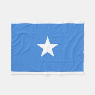 Nationale Weltflagge Somalias Fleecedecke