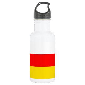 Nationale Weltflagge Südossetiens Trinkflasche