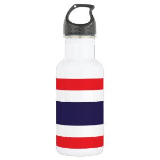 Nationale Weltflagge Thailands Edelstahlflasche