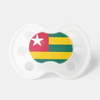 Nationale Weltflagge Togos Schnuller