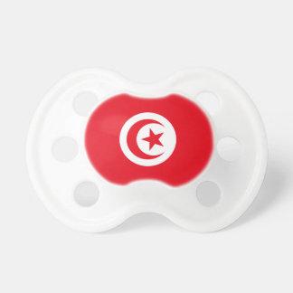 Nationale Weltflagge Tunesiens Schnuller