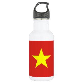 Nationale Weltflagge Vietnams Edelstahlflasche