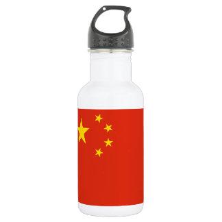 Nationale Weltflagge Volksrepublik China Edelstahlflasche