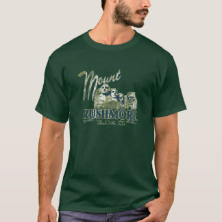 Nationales Erinnerungst-stück PS7071 Mt Rushmore T-Shirt