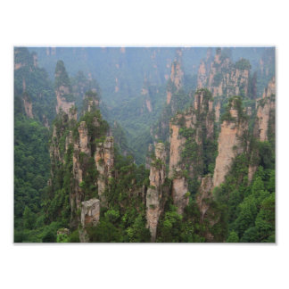 Nationales Forest Park Foto-Papier Zhangjiajie Fotodruck
