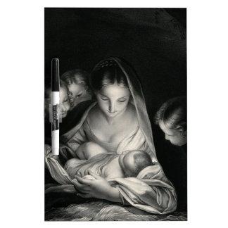 Nativity-Baby-Jesus-Jungfrau-Mary-Engel Memoboard