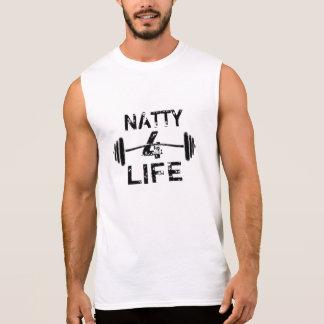 Natty 4 Lebens-Logo-Abnutzung Ärmelloses Shirt