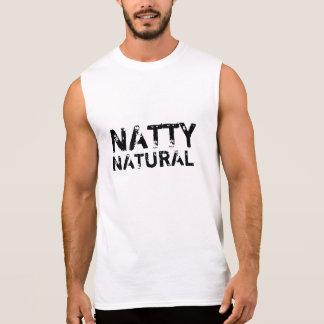 Natty natürliches ärmelloses shirt