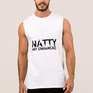 Natty nicht erhöht ärmelloses shirt