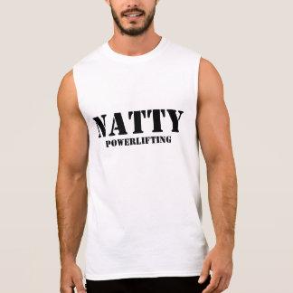 Natty Powerlifting Ärmelloses Shirt