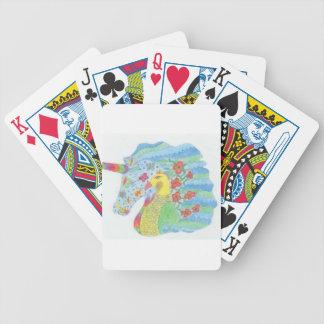 Natur-Einhorn Pokerkarten