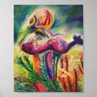 Natur-Kunst-Druck Poster