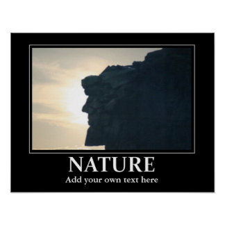 Natur-Plakatinspiration/-motivation Poster