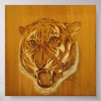 Natur-Sammlung - Tiger-Porträt Poster