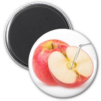 Natürlicher Apfelsaft Runder Magnet 5,7 Cm