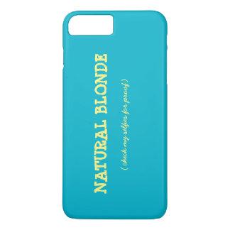 Natürlicher blonder IPhone Fall iPhone 7 Plus Hülle