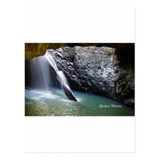 Natürlicher Bogen-Wasserfall Postkarte