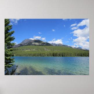 Natürliches Banff-Landschaftsplakat Poster
