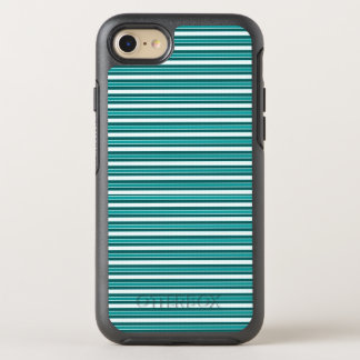 Nautical_Teal-Stripes (c) Apple_Samsung (c) OtterBox Symmetry iPhone 7 Hülle
