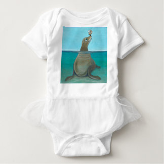 """Nautilus"" der Seelöwe Baby Strampler"