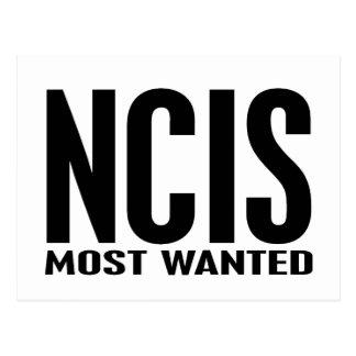 NCIS gewollt Postkarte