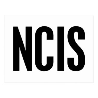 NCIS POSTKARTE