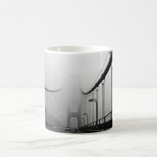 Nebel in San Francisco Kaffeetasse