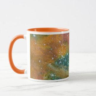 Nebelfleck und Planeten Tasse