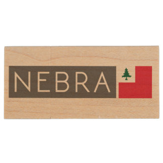 NEBRA USB Stock Holz USB Stick 2.0