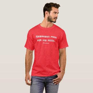Nebraska-Staats-Wortspiel-Shirt T-Shirt