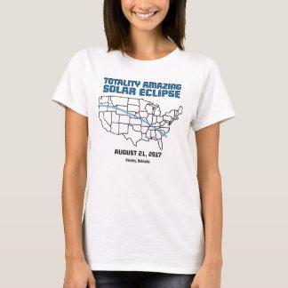 Nebraskasolareklipse 2017 - Gesamtheits-T - Shirt