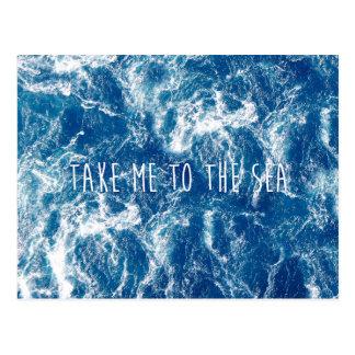 Nehmen Sie mich zum Meer Postkarten