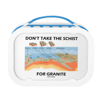 Nehmen Sie nicht den Schiefer für Granit Brotdose