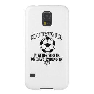 Neigen der coolen Fußballentwürfe Samsung Galaxy S5 Hüllen