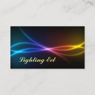 Neon Farben Visitenkarten Zazzle At