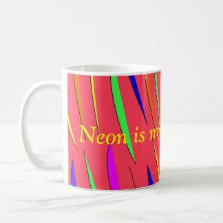 Neon ist meine Tasse des mittleren Namens
