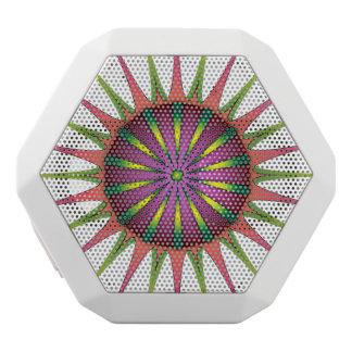 NeonBlume Weiße Bluetooth Lautsprecher