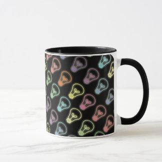 Neonglühlampenentwurfs-Kaffee-Tasse Tasse