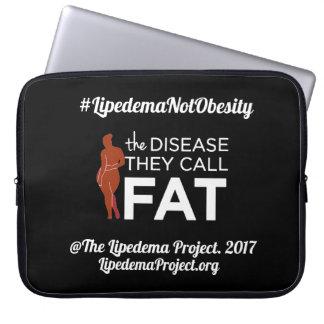 Neopren-Laptophülse die Krankheit nennen sie Fett Laptop Sleeve