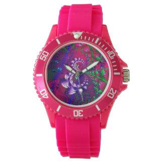 Nerdberries psychedelisches Fraktal Armbanduhr