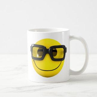 NerdGeek des smiley-3d Tasse