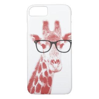 Nerdy Giraffe iPhone 8/7 Hülle