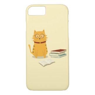Nerdy Katze iPhone 8/7 Hülle