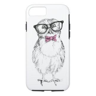 Nerdy Owlet klein aber intelligent iPhone 8/7 Hülle